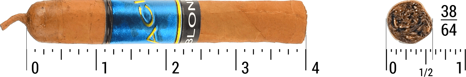 Acid Blondie Single Cigar Size