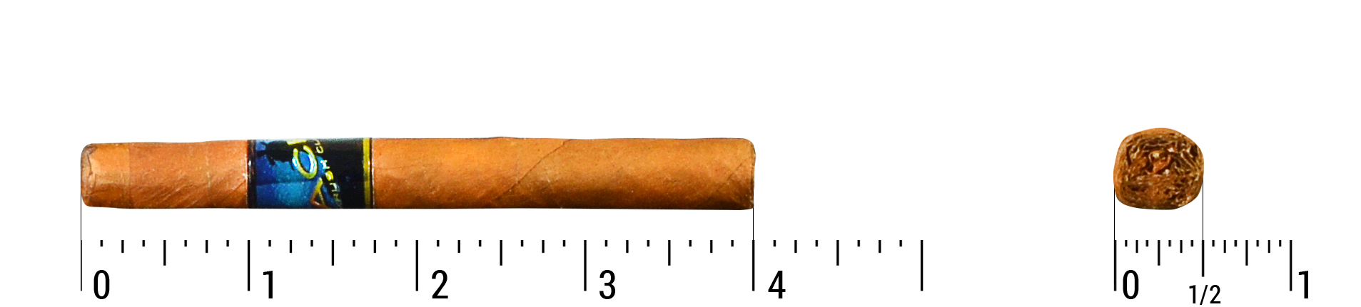 Acid Krush Blue Connecticut Single Cigar Size